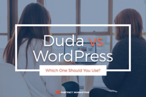 Duda vs Wordpress - Featured Image